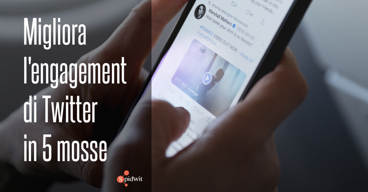 twitter: come aumentare engagement